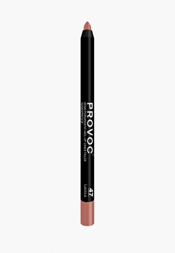 Карандаш для губ Provoc Provoc PR031LWZYF24 карандаш для бровей provoc provoc pr031lwzyh46