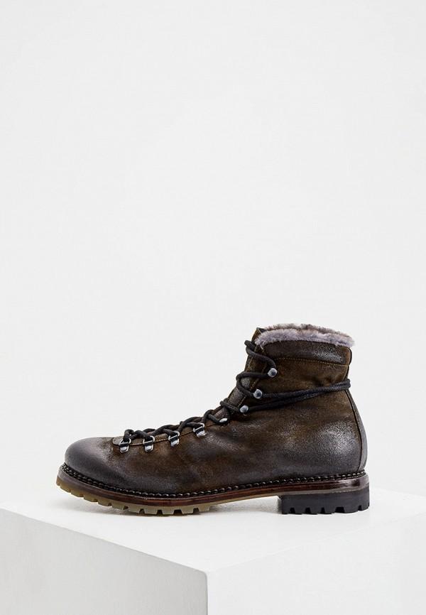 мужские ботинки premiata, коричневые
