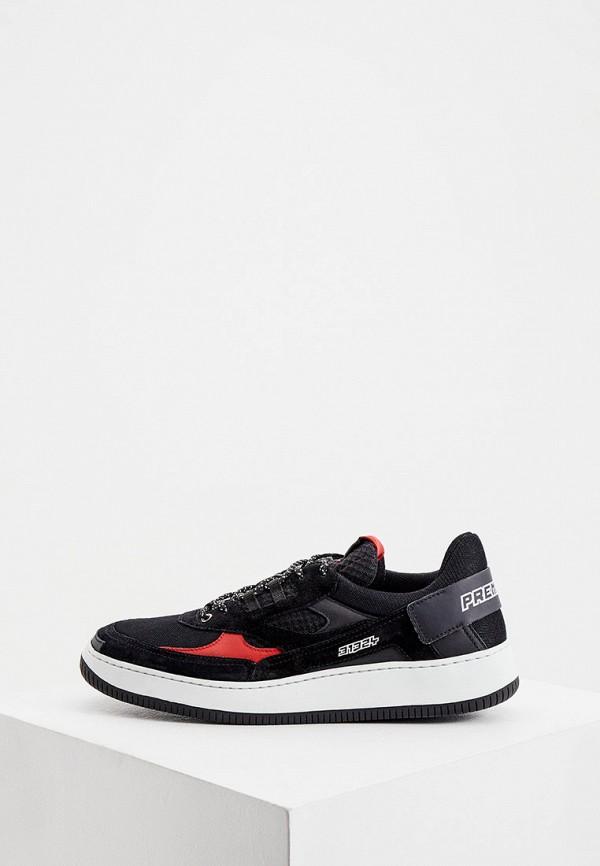 мужские кроссовки premiata, черные