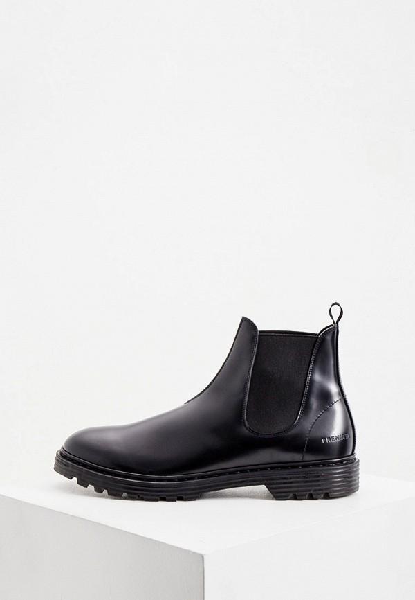 мужские ботинки premiata, черные