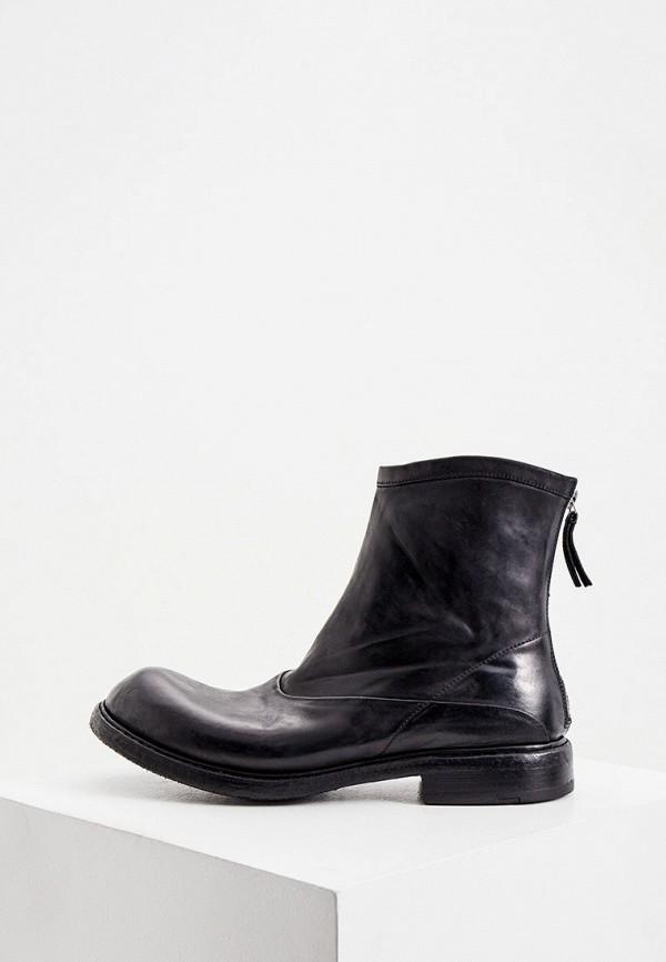 мужские сапоги premiata, черные