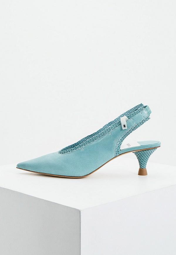 женские туфли premiata, бирюзовые