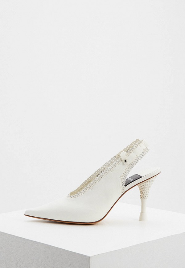 женские туфли premiata, белые