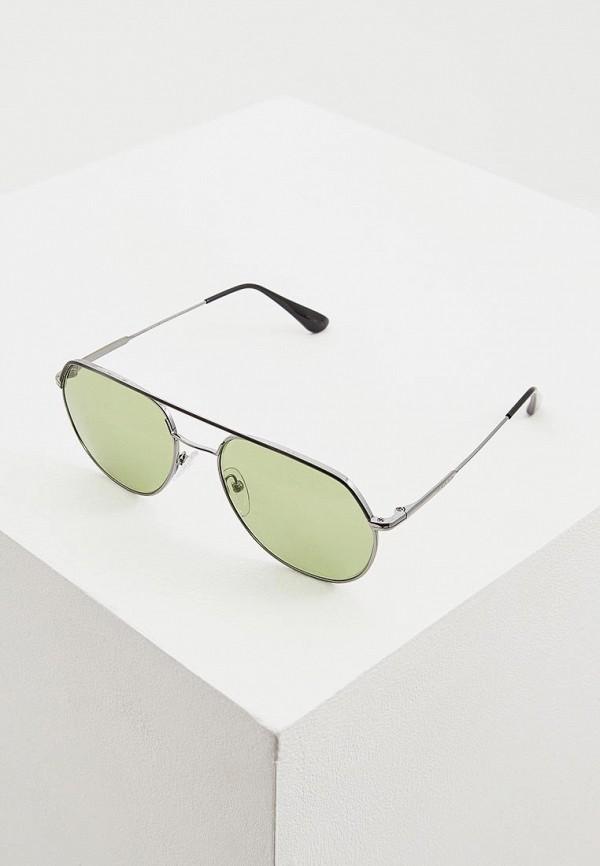 мужские солнцезащитные очки prada, зеленые