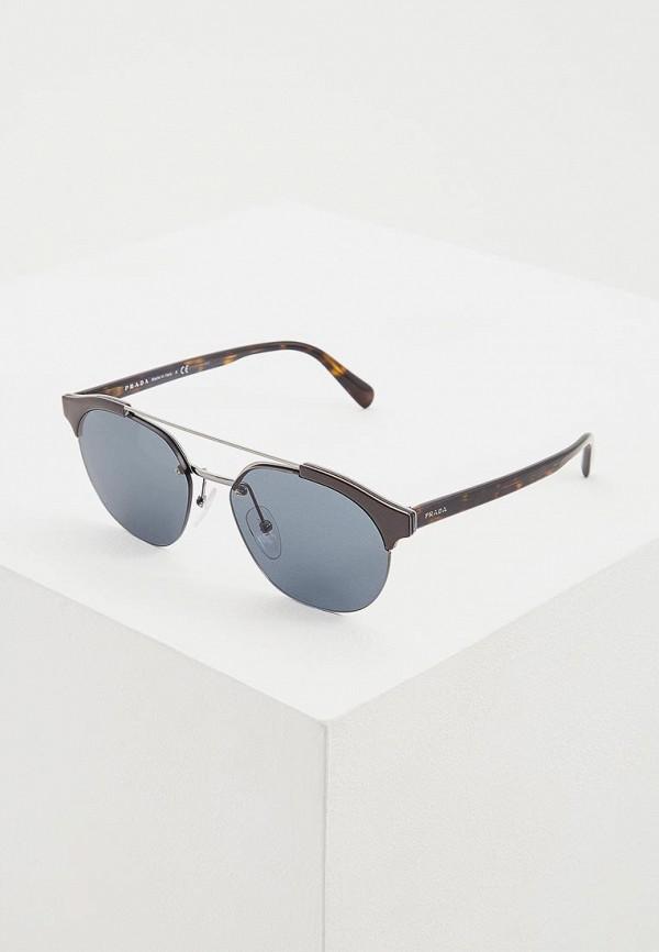 Очки солнцезащитные Prada Prada PR040DMDBJO0 солнцезащитные очки oakley 0oo9009 12 79
