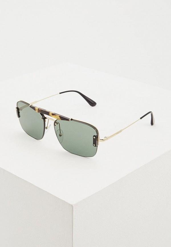 мужские солнцезащитные очки prada, серые