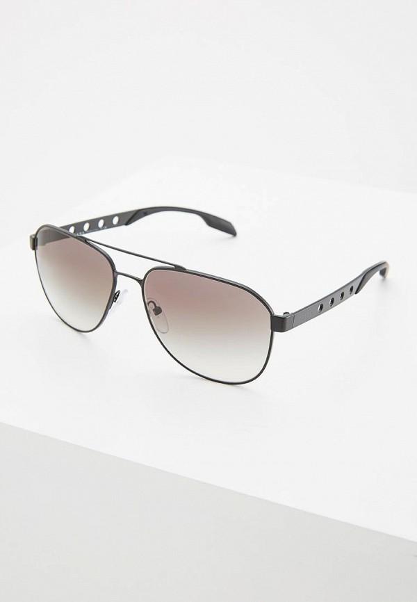 Очки солнцезащитные Prada Prada PR040DMDPZ50 prada короткий черный джемпер