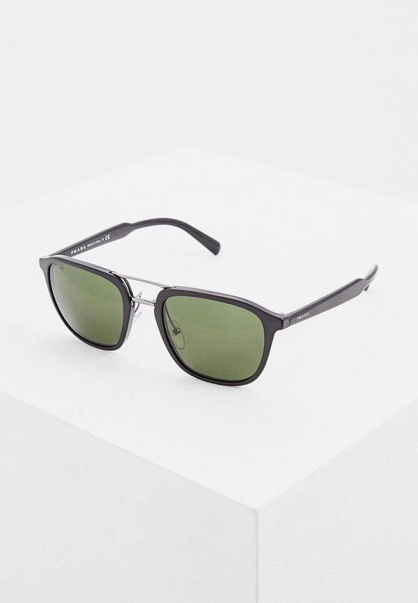 цена Очки солнцезащитные Prada Prada PR040DMSUK34 онлайн в 2017 году
