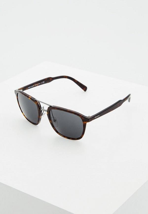 Фото - Очки солнцезащитные Prada Prada PR040DMSUK35 очки солнцезащитные prada prada pr040dwbzno6