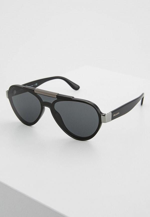 Очки солнцезащитные Prada Prada PR040DMZBW25 цена и фото