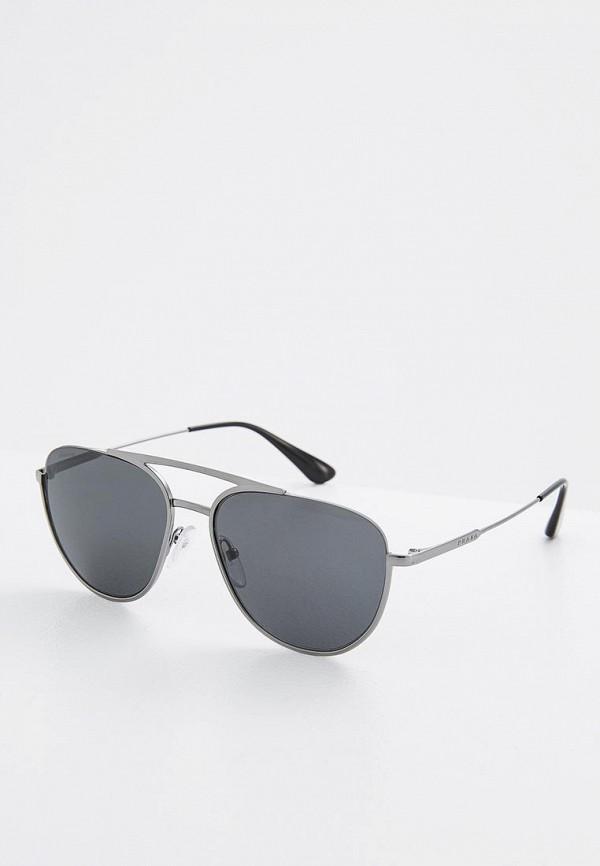 Очки солнцезащитные Prada Prada PR040DMZBW35 prada серый кашемировый джемпер
