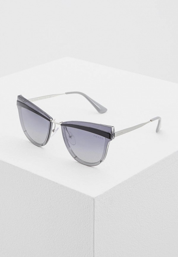 Очки солнцезащитные Prada Prada PR040DWATBE0 prada серый кашемировый джемпер
