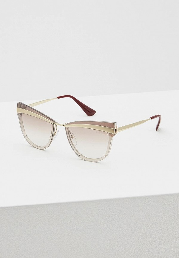 Очки солнцезащитные Prada Prada PR040DWATBE1 prada кожаный кошелек