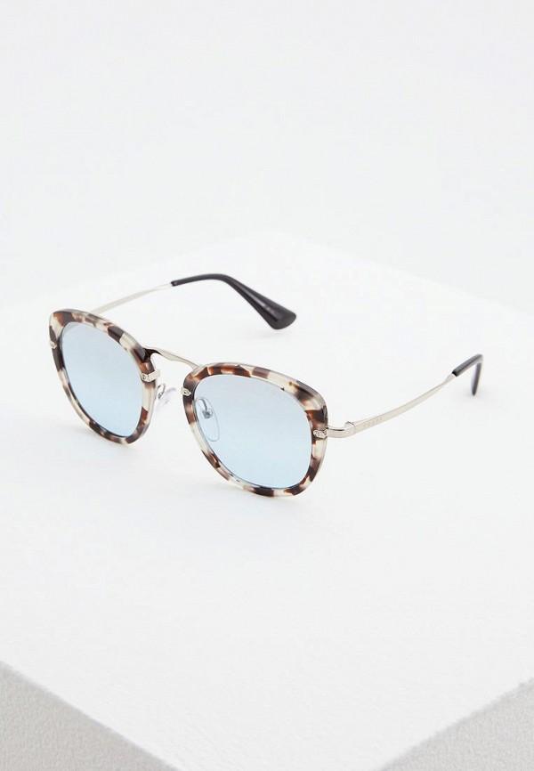 женские солнцезащитные очки prada, серые