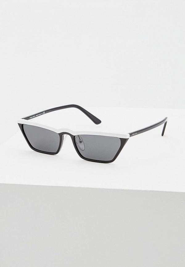 цена Очки солнцезащитные Prada Prada PR040DWBZNN2 онлайн в 2017 году