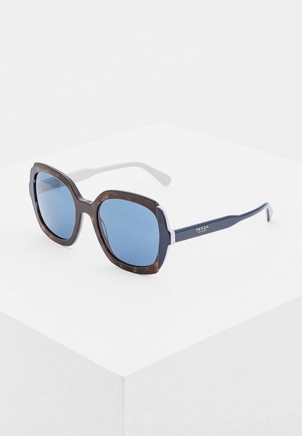 Очки солнцезащитные Prada Prada PR040DWBZNO4 цена и фото