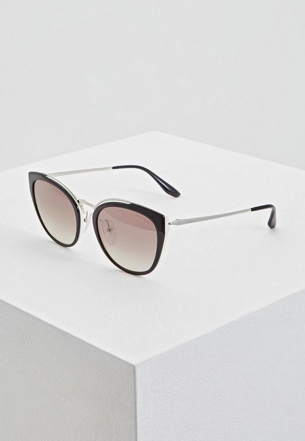 Очки солнцезащитные Prada Prada PR040DWDBJM2 prada короткий черный джемпер