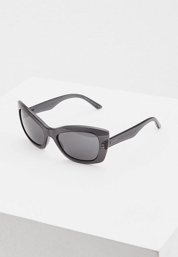 женские солнцезащитные очки prada, разноцветные