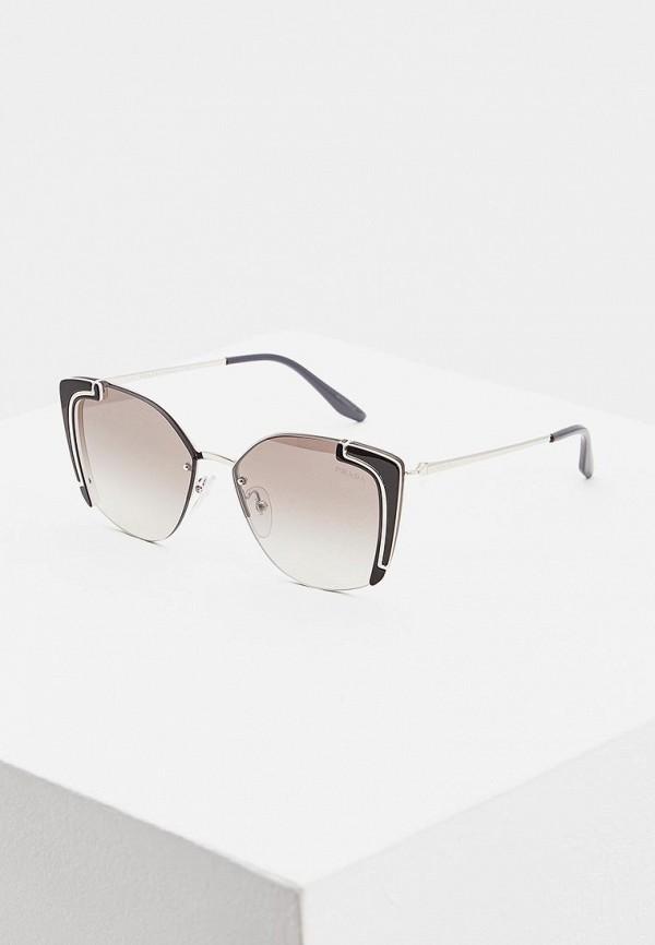 Очки солнцезащитные Prada Prada PR040DWDBJR5 очки солнцезащитные prada prada pr040dwhxf23