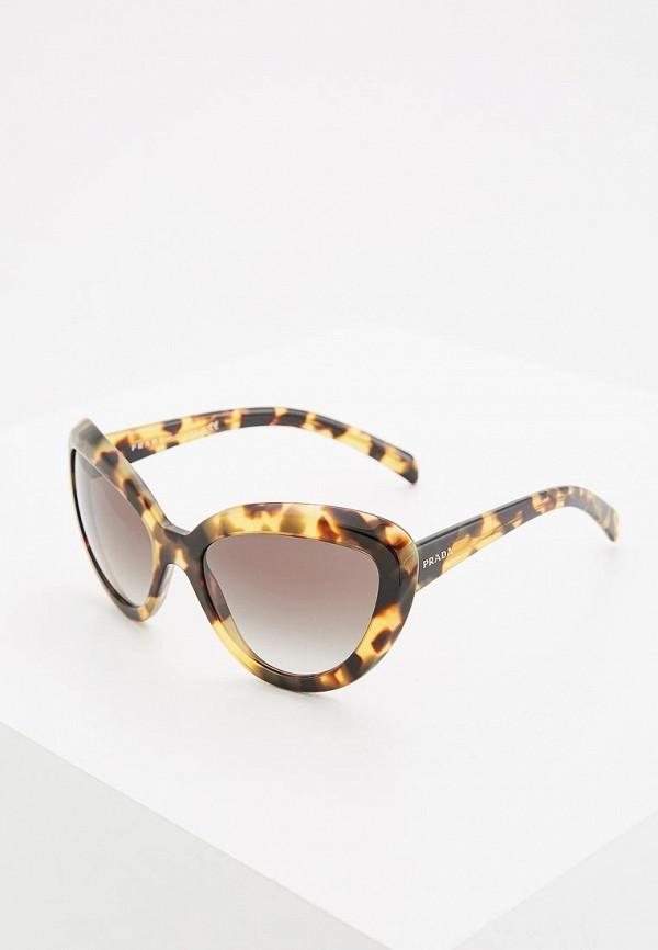 Очки солнцезащитные Prada Prada PR040DWDPZ19 цена и фото