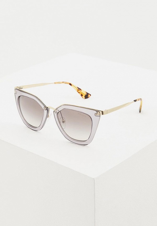 Фото - Очки солнцезащитные Prada Prada PR040DWDSAP3 очки солнцезащитные prada prada pr040dwbzno6