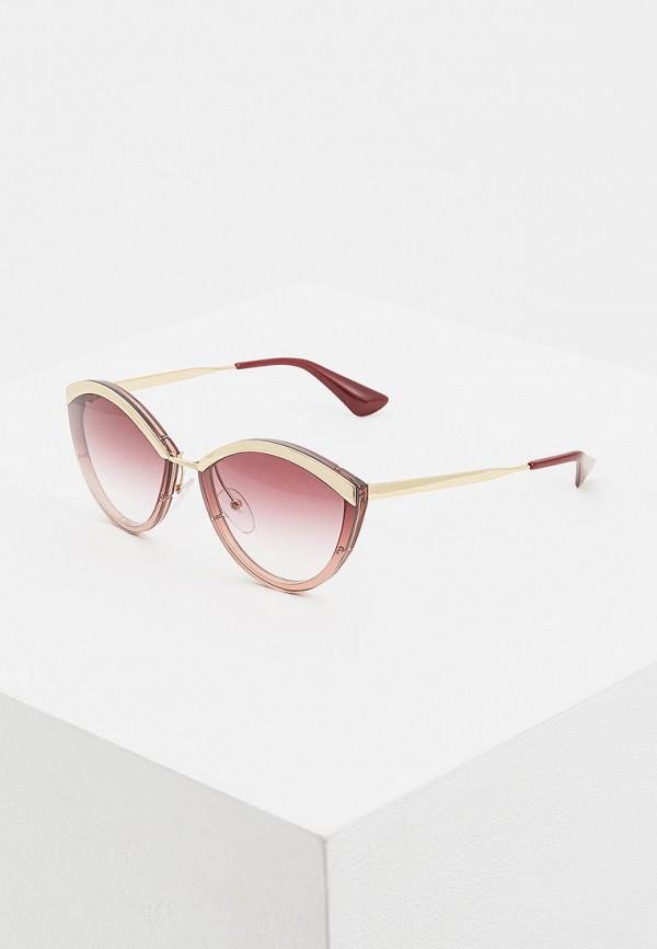 Очки солнцезащитные Prada Prada PR040DWDSAP9 prada розовый клатч на цепочке
