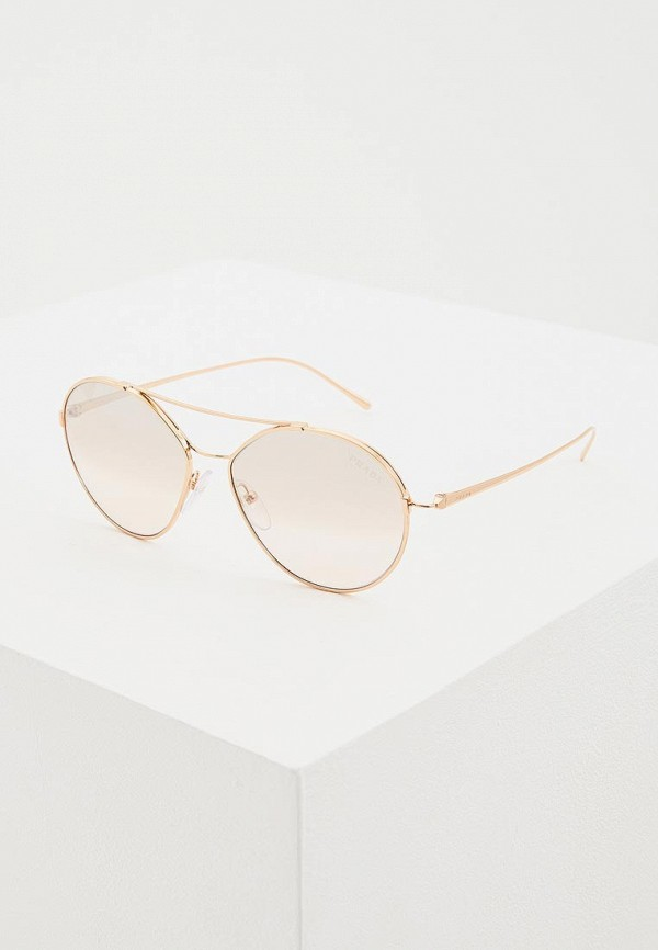 женские солнцезащитные очки prada, бордовые