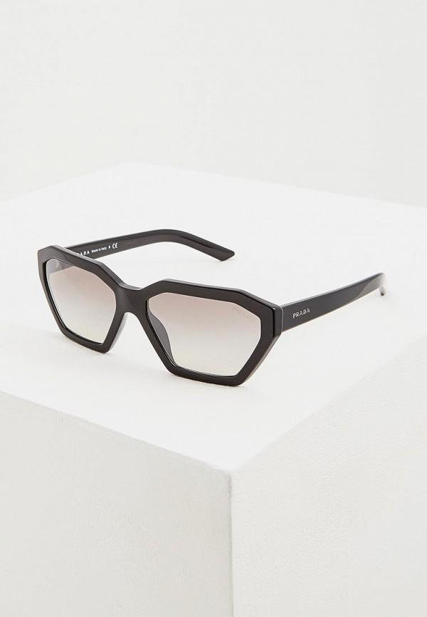 Очки солнцезащитные Prada Prada PR040DWENBW1 prada кожаный кошелек