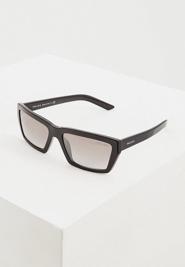 Очки солнцезащитные Prada Prada PR040DWENBW2 prada кожаный кошелек