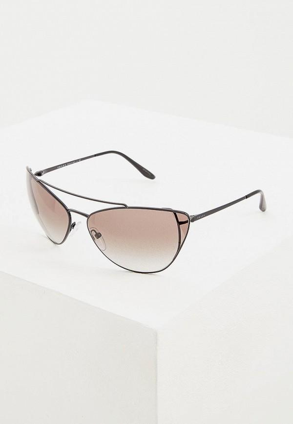 Очки солнцезащитные Prada Prada PR040DWENBW7 очки солнцезащитные prada prada pr040dwzbv94