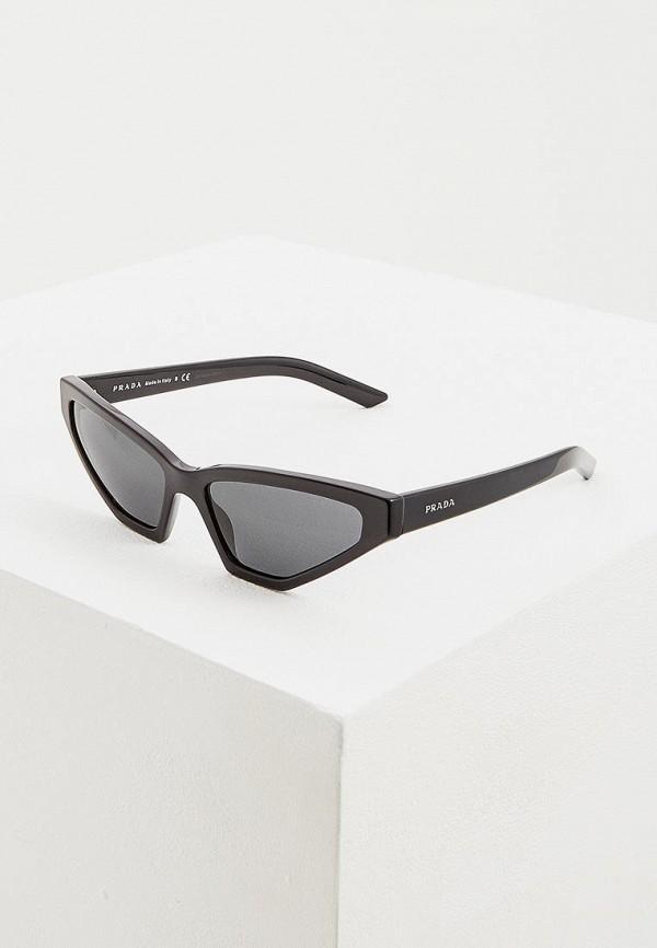 Очки солнцезащитные Prada Prada PR040DWENBX0 очки солнцезащитные prada prada pr040dwzbv94