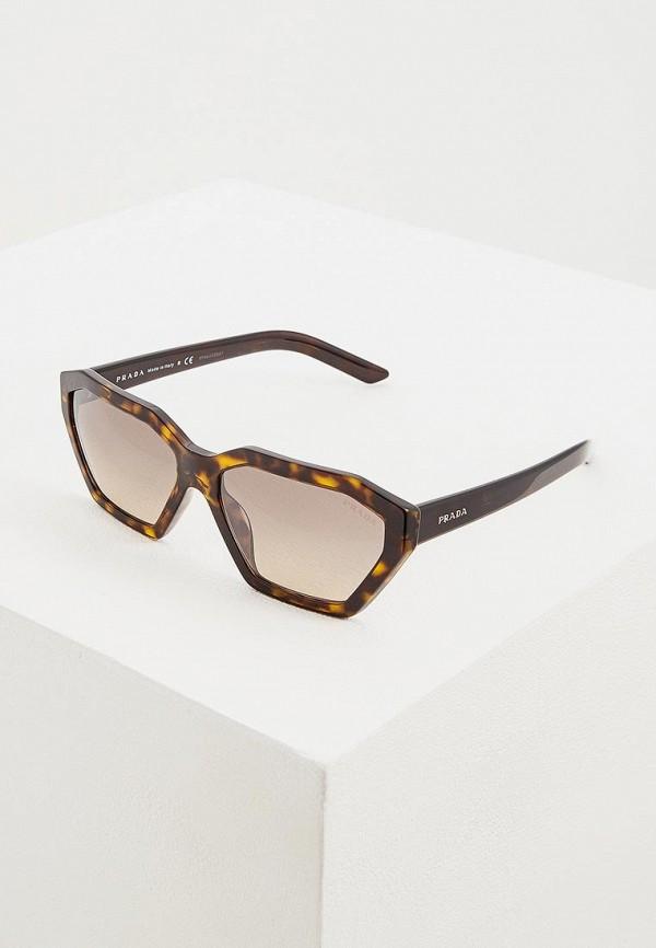 Очки солнцезащитные Prada Prada PR040DWENBX6 очки солнцезащитные prada очки солнцезащитные