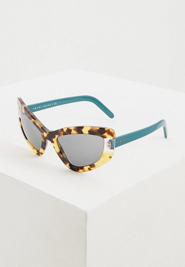Очки солнцезащитные Prada Prada PR040DWENBY5 цена и фото