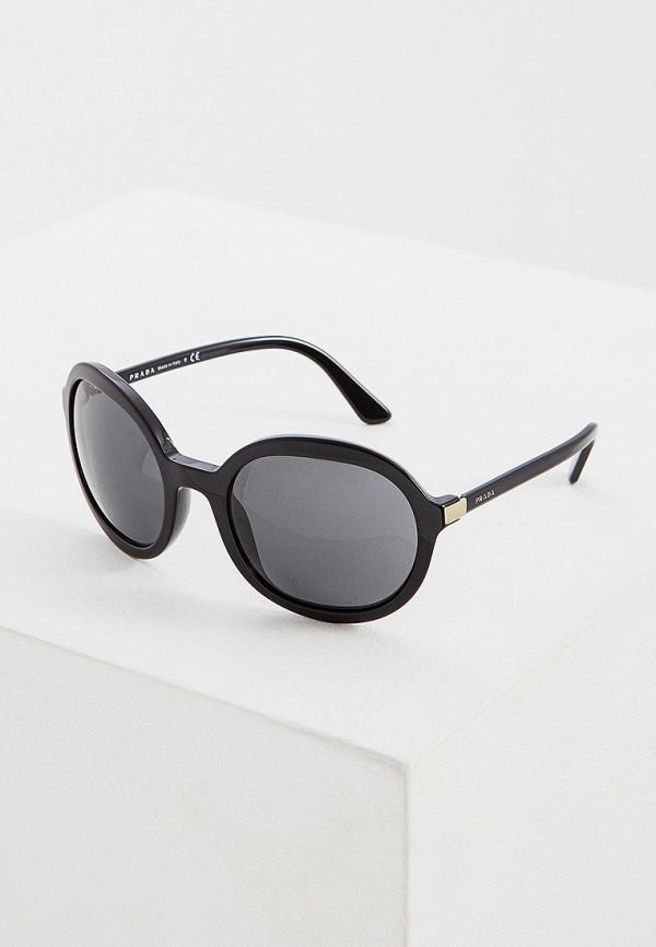 цена Очки солнцезащитные Prada Prada PR040DWFTTK5 онлайн в 2017 году