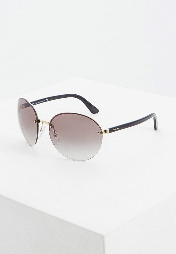 цена Очки солнцезащитные Prada Prada PR040DWFTTK8 онлайн в 2017 году