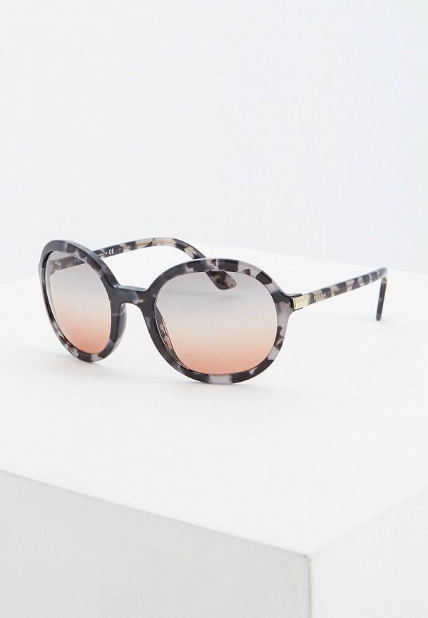 Очки солнцезащитные Prada Prada PR040DWFTTL2 prada кожаный кошелек