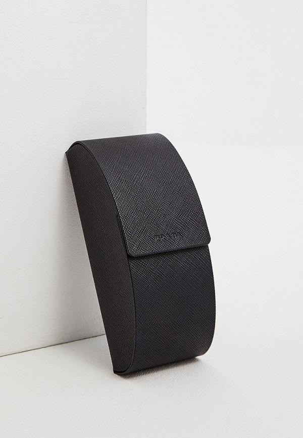 Фото 5 - Очки солнцезащитные Prada белого цвета