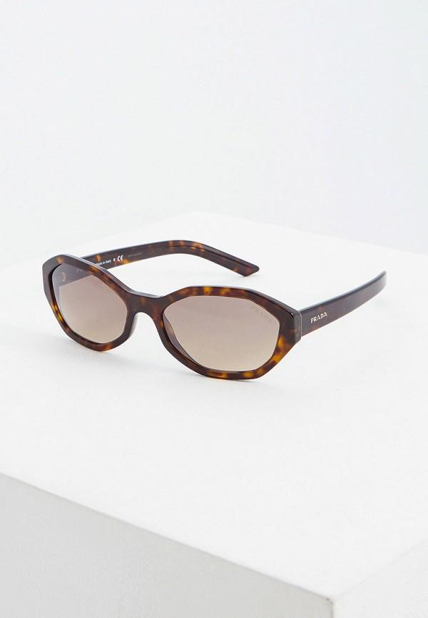 Очки солнцезащитные Prada Prada PR040DWFTTW5 цена и фото