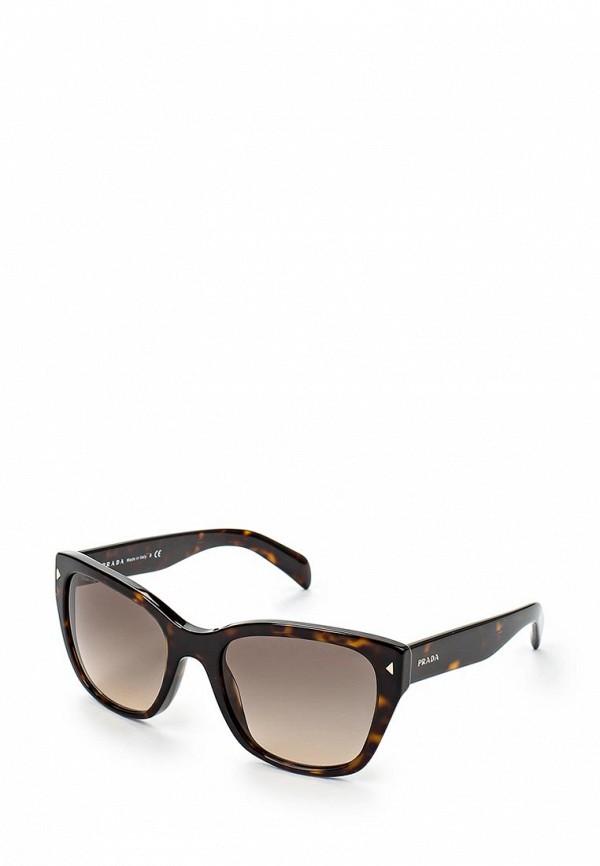 Очки солнцезащитные Prada Prada PR040DWHFI60 очки солнцезащитные prada prada pr040dwhxf23