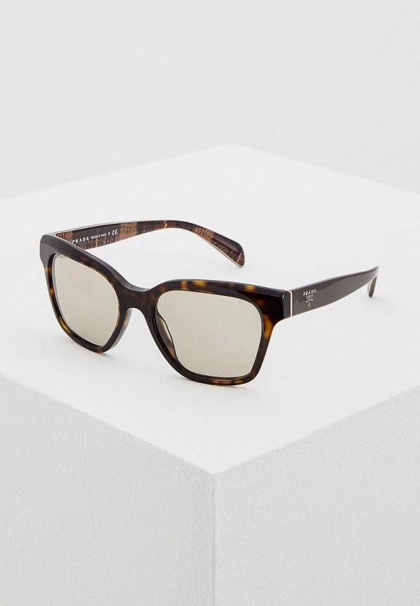 Очки солнцезащитные Prada Prada PR040DWHFI65 цена и фото