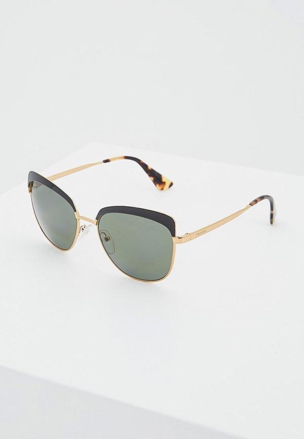 Очки солнцезащитные Prada Prada PR040DWOXC27 цена и фото