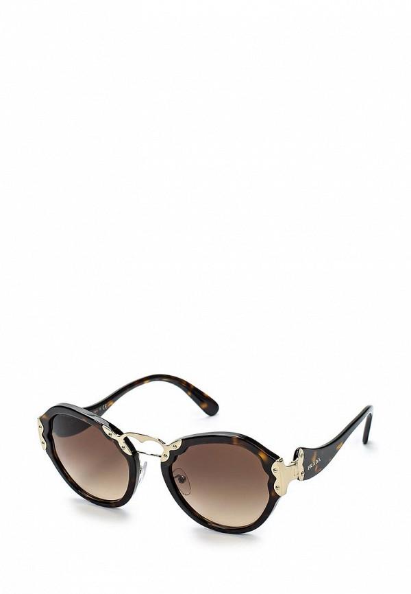 Очки солнцезащитные Prada Prada PR040DWOXC46 цена и фото