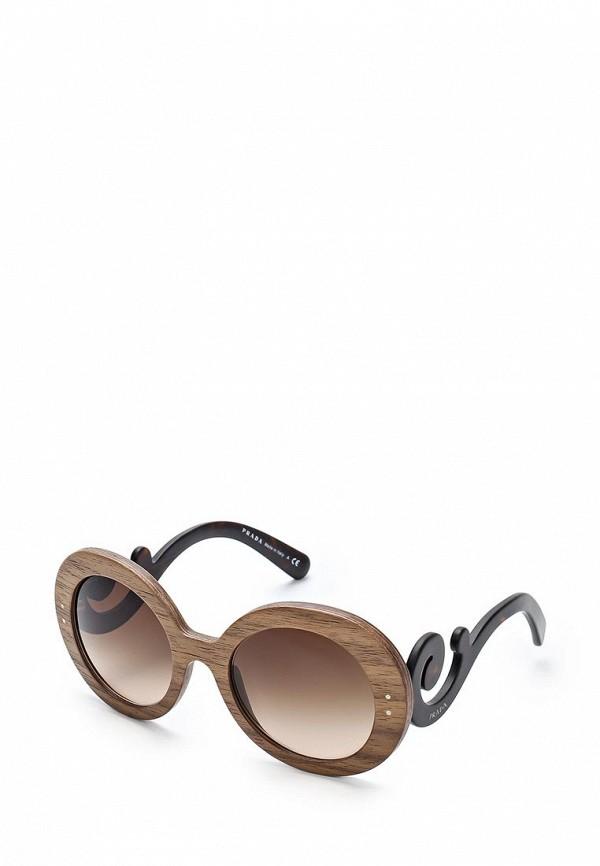 Очки солнцезащитные Prada Prada PR040DWPRY31 очки солнцезащитные prada prada pr040dwdbjp8