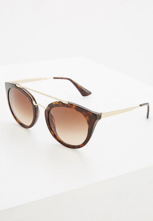 мужские солнцезащитные очки prada, коричневые