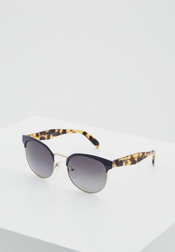 Очки солнцезащитные Prada Prada PR040DWSUK44 солнцезащитные очки bikkembergs очки солнцезащитные
