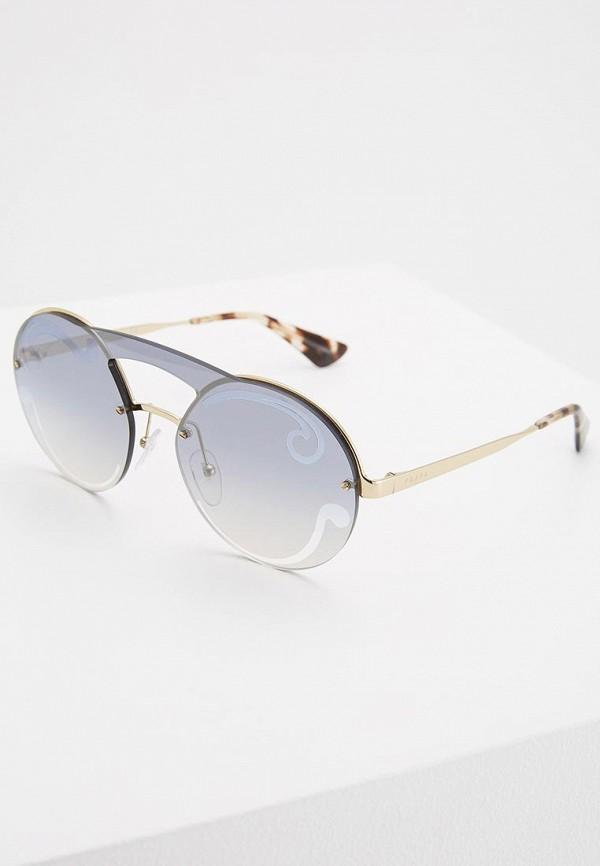 Очки солнцезащитные Prada Prada PR040DWZBV91 цены онлайн