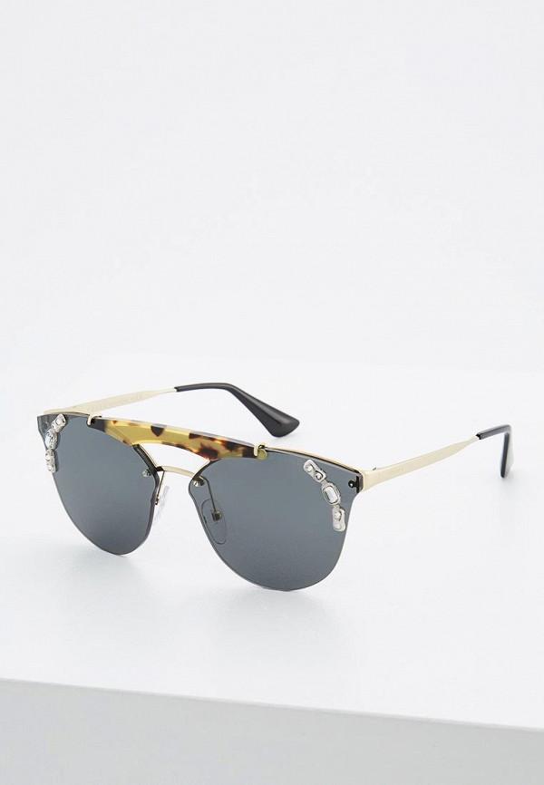 Очки солнцезащитные Prada Prada PR040DWZBW23 цена и фото