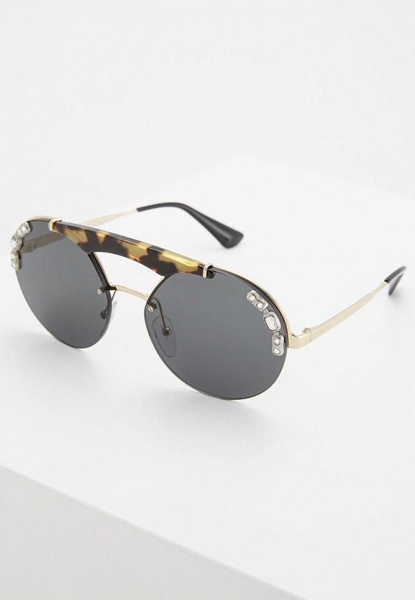 Очки солнцезащитные Prada Prada PR040DWZBW39 солнцезащитные очки diesel солнцезащитные очки dl 0122 52v