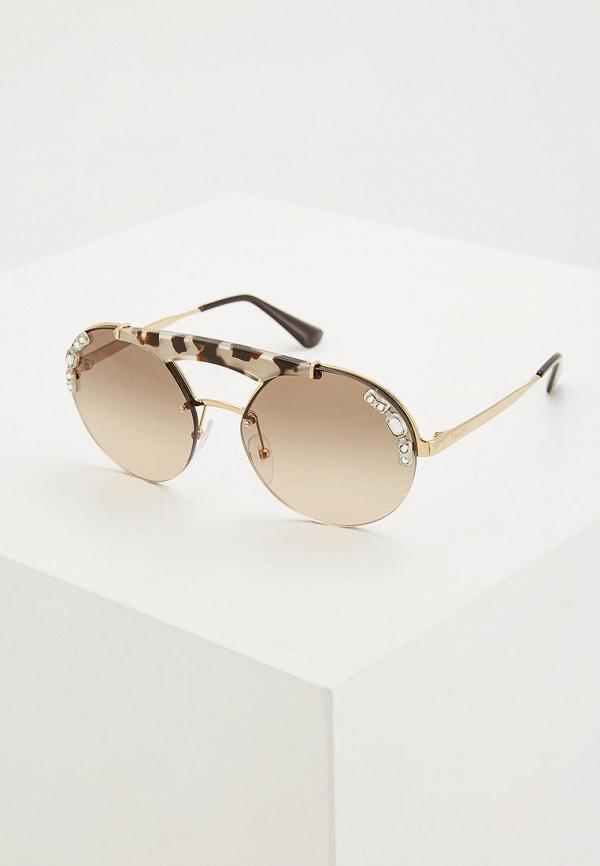 Очки солнцезащитные Prada Prada PR040DWZBW40 цена и фото