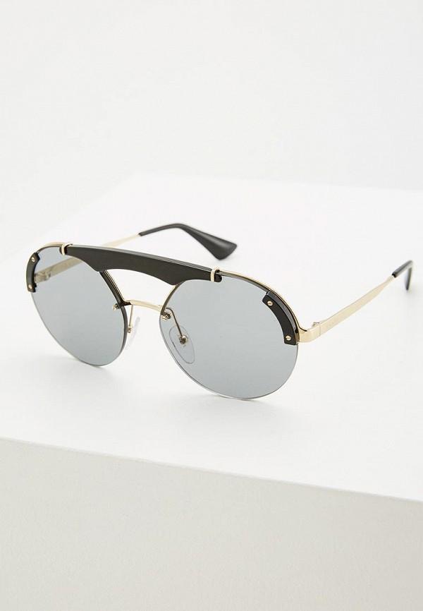 Очки солнцезащитные Prada Prada PR040DWZBW43 солнцезащитные очки vespa солнцезащитные очки vp 12is c03